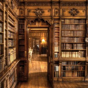 Library at Arley Hall by Gordon Armstrong Winner of the Record Section Score: 19