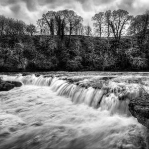 Askrigg Falls by Tracey McGovern Commended in Landscape Section