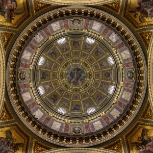 Cupola of St Stephens' basilica, Budapest by Lesley Davidson Winner of the Record ( digital ) competition and Best Over Record image
