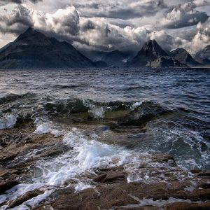 Waves at Elgol by Keith Richardson Score: 20