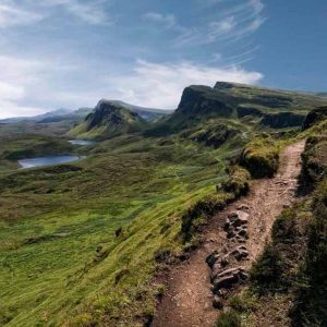 Trotternish, Isle of Skye by Keith Richardson Winner of the Open Pictorial Print Category Score: 20