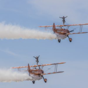 Breitling Wing Walkers by Mel Barnes, C open Colour Print