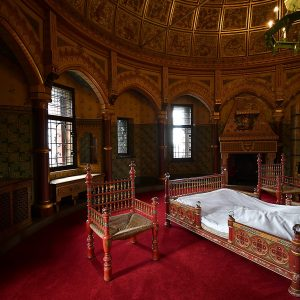 The Duchess's Bedroom at Castle Coch by John Riley, Scored 19