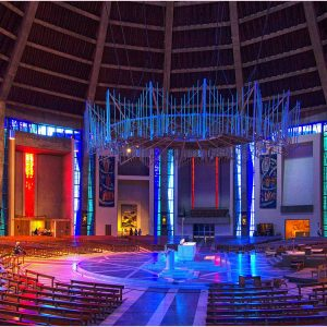 Liverpool RC Cathedral by Mike Aspinall Commended in Record Section
