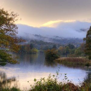 Dusk on Rydal water by Janice Freeman Commended in Landscape Section