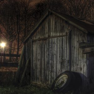 The Old Tyre Shed by Adam Whitehead Score: 19
