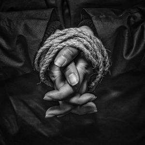 My Hands are Tied by Stuart Ogden Very Highly Commended in Mono Section