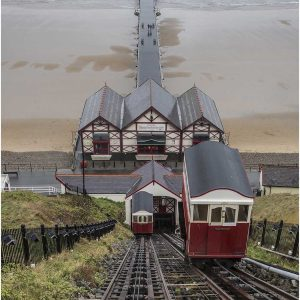 Saltburn Cliff Lifts by Mel Barnes Highly Commended in Record Section