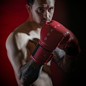 The Boxer by Stuart Ogden Highly Commended in Portraits Section