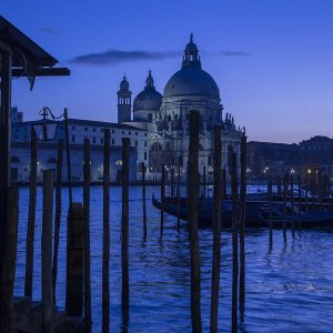 Blue Venice by Mel Barnes Highly Commended in Landscape section