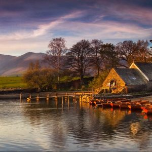 Old Boat House at Derwent Water by Andy Baines Score: 19