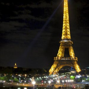 Paris at Night by Tony Lee