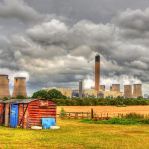 Power over the land - Drax Power station, Selby by Lesley Davidson Score: 12