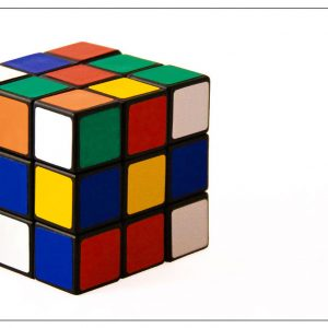 Rubiks Cube by Tracey McGovern