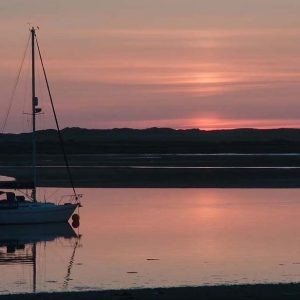 Sunset over Ravenglass, Cumbria by Roy  Score: 18
