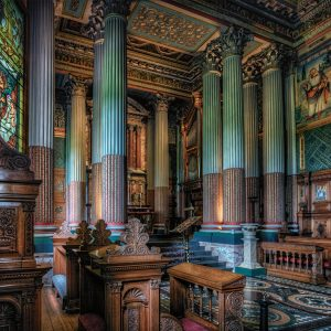 Chapel at Castle Howard by Gerry Gentry Winner of the Records section
