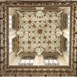 Top Arch Ceiling Detail, York Minster by Sue Riley Very Highly Commended in Record Digital