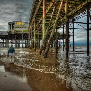 Under Blackpool Pier by Gerry Gentry Score: 20 & Winner Very Highly Commended in Open Digital