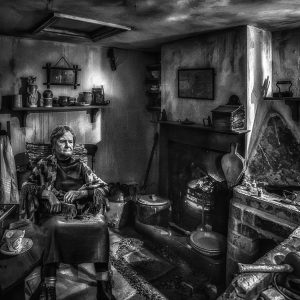 Hard Times by Gerry Gentry Highly Commended in Mono