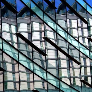 Quays Reflection by John Merritt Score: 18