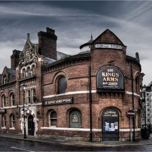 The Kings Arms ale house by Keith Richardson Winner of the Record Print category and Best overall print