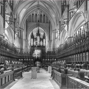 Choir Stalls, Lincoln Cathedral by Mike Aspinall, VHC Record DPI