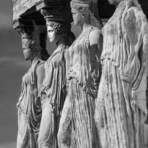 The Caryatids by Gordon Armstrong, scored 13