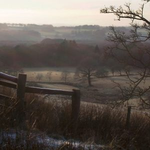Winter Landscape, Rivington by Lesley Davidson, scored 12