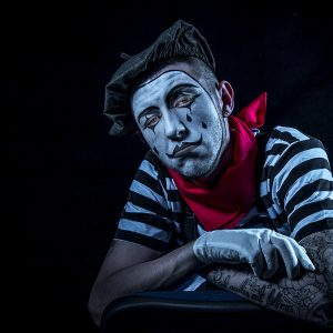 Tears of the Clown by Stuart Ogden, Portrait Digital, 14, Very Highly Commended