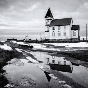 Icelandic Church by John Chappell, scored 19