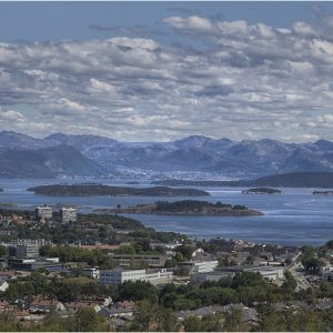 View of the Lysefjord, Stavanger, Norway by Lesley Davidson, 15