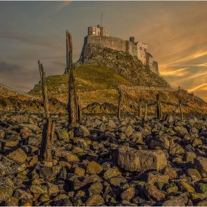 Lindisfarne Sunset by Stuart Ogden, 15
