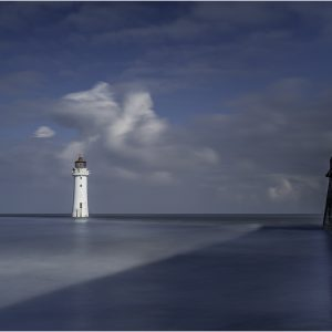 Perch Rock Lighthouse by Alan Kemp, Open Colour, HC