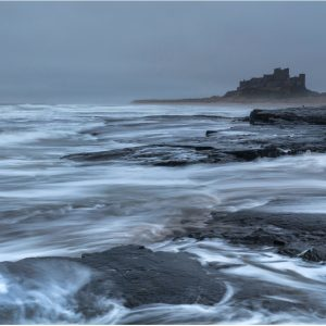 Stormy Seas, Bamburgh by John Chappell, Open Colour, WINNER