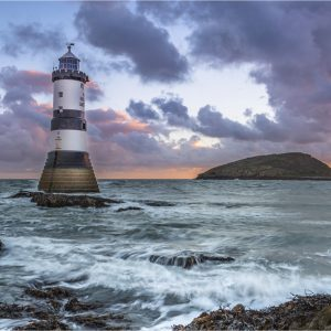 Sunrise, Penmon Point by John Chappell, Open Colour, VHC