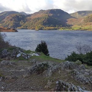 Looking Across Silver Bay, Ullswater by Lesley Davidson, 14