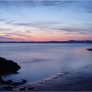 The Blue Hour - After Sunset, Anglesey by Alan Kemp, 18
