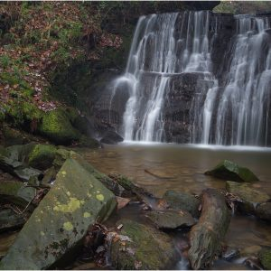 Tiger's Clough Waterfall, Rivington by Lesley Davidson, 17