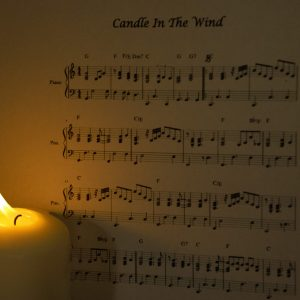 Candle In The Wind by Darren Hanson