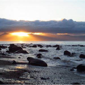 Sunrise over Tremadog Bay by Brian Hull, 17