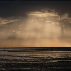 Sunset Over Morecambe Bay by Gordon Armstrong, 18